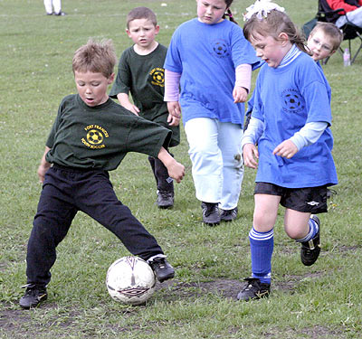 In control of the pitch