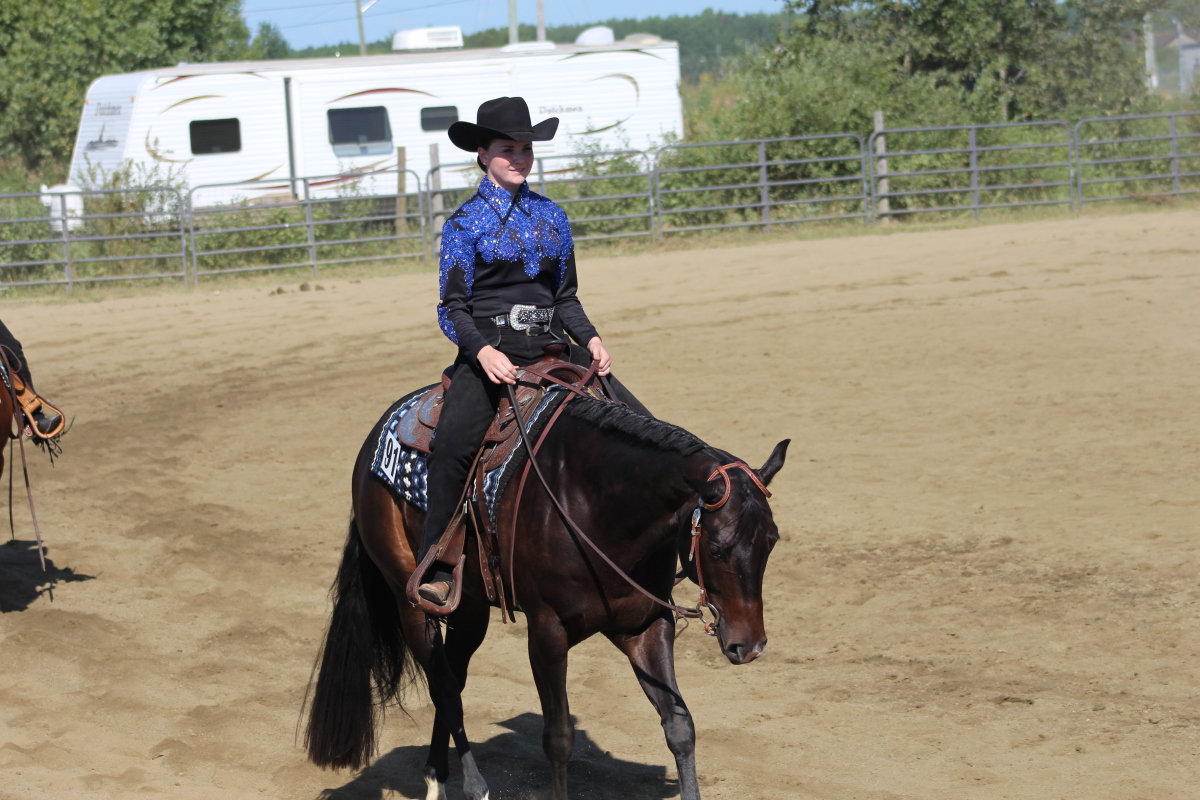 LeDrew riding