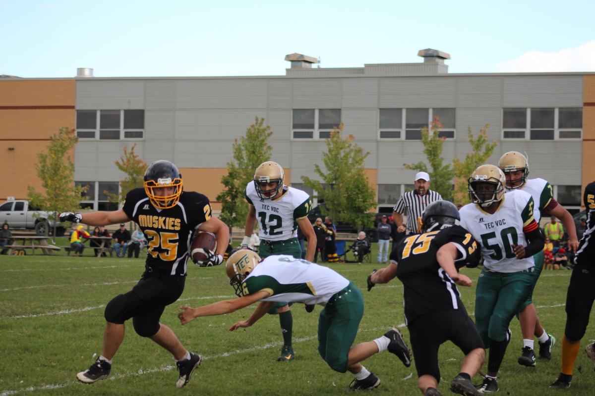 eluding tackle