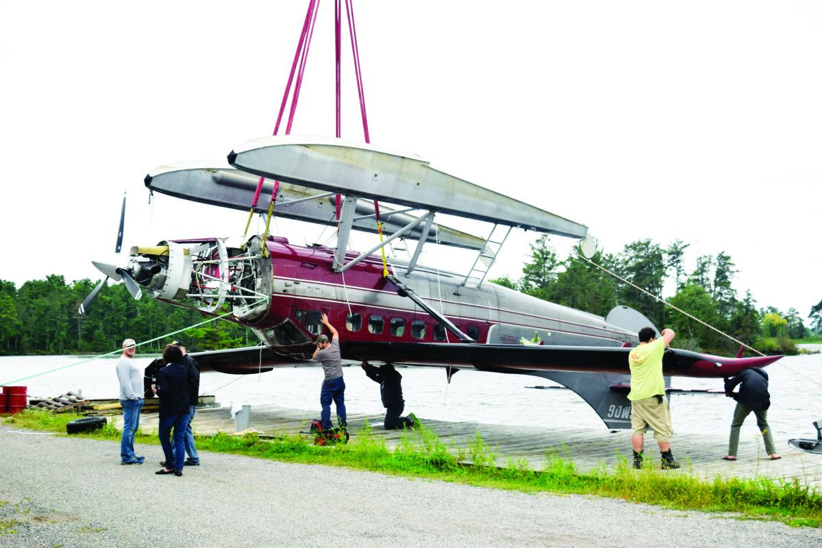 upside down plane