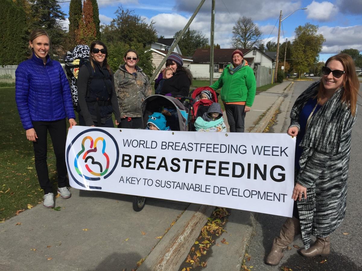 breastfeeding march