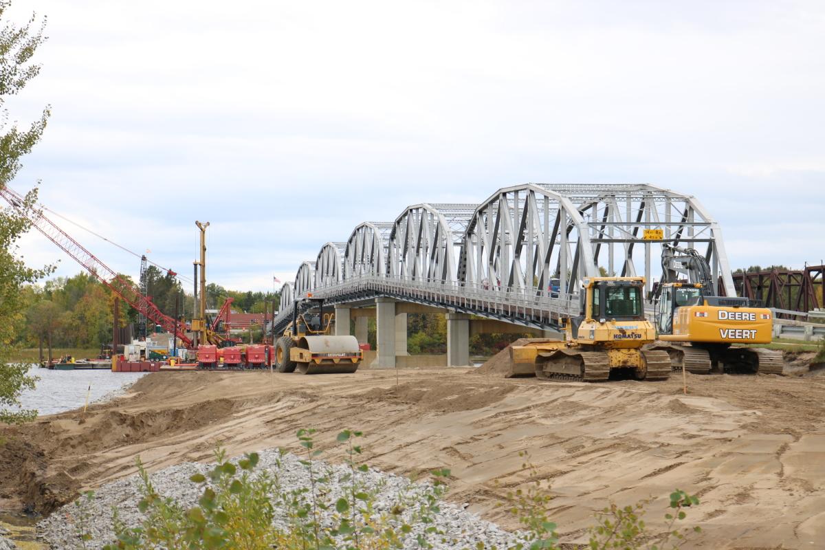 new bridge work