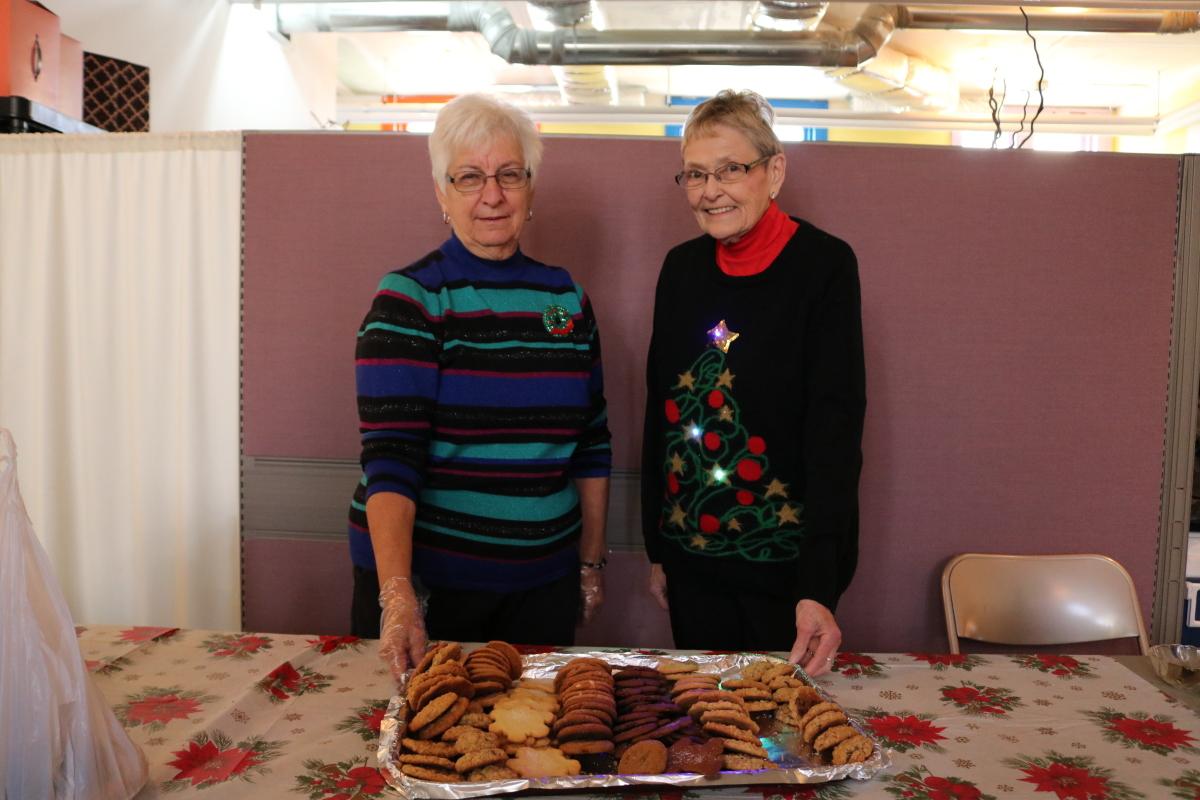 displaying cookies