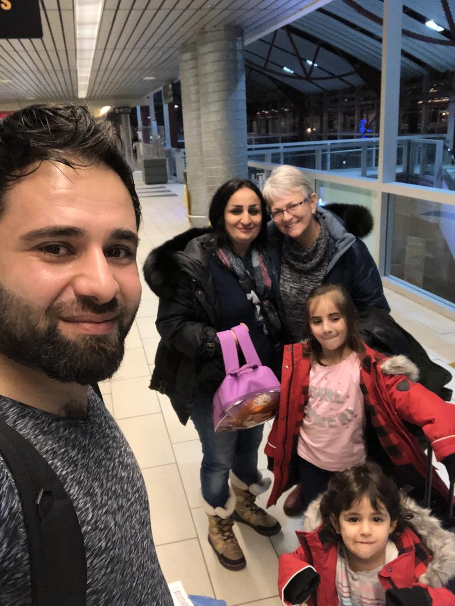 family leaving
