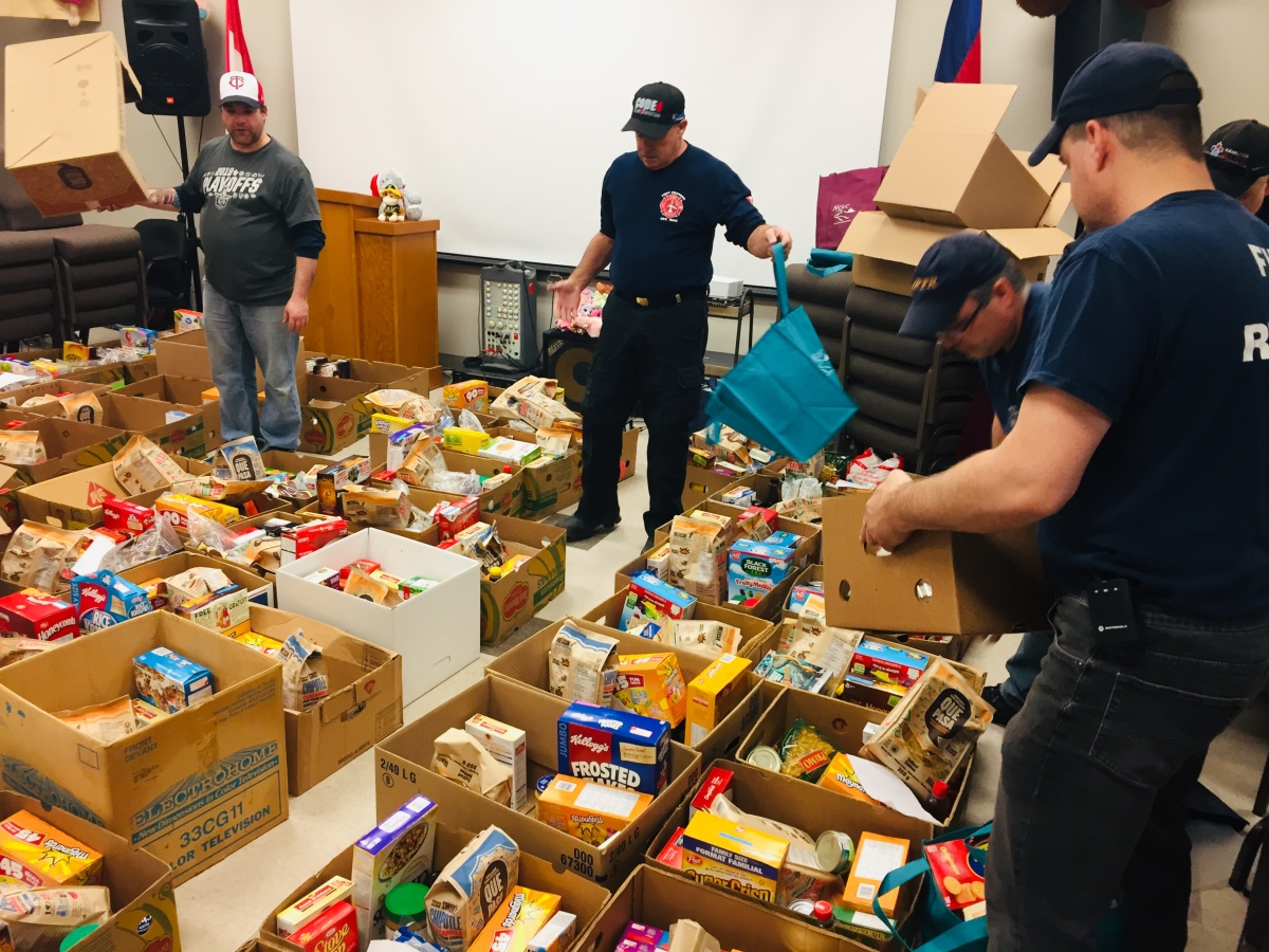 fire hall hampers