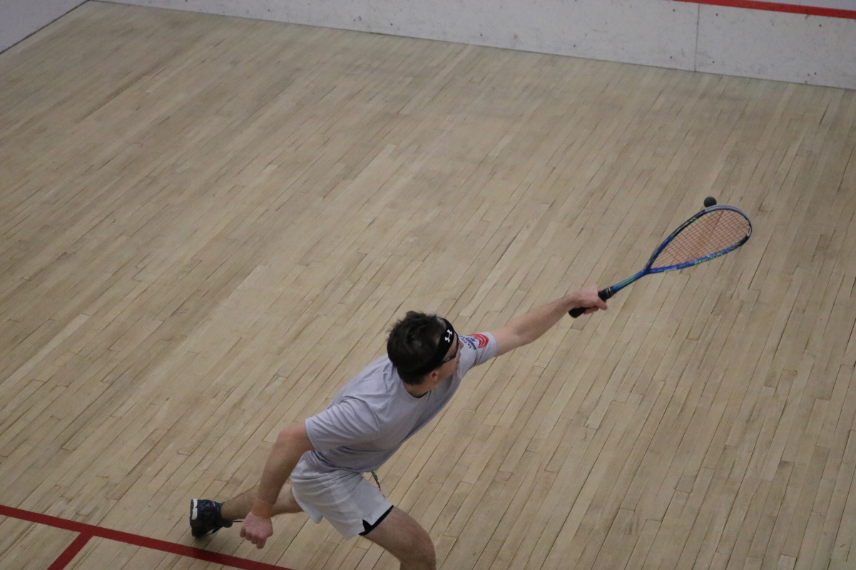 squash lunge