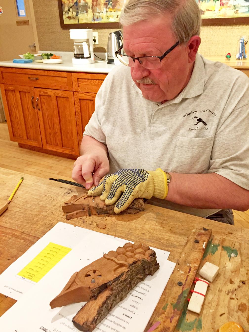 wood-carving workshop
