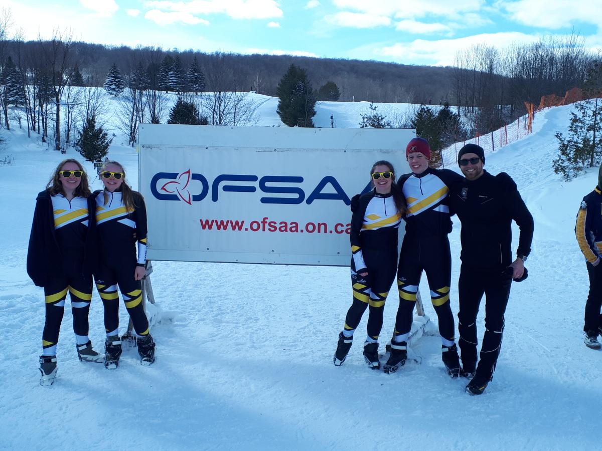 OFSAA skiers
