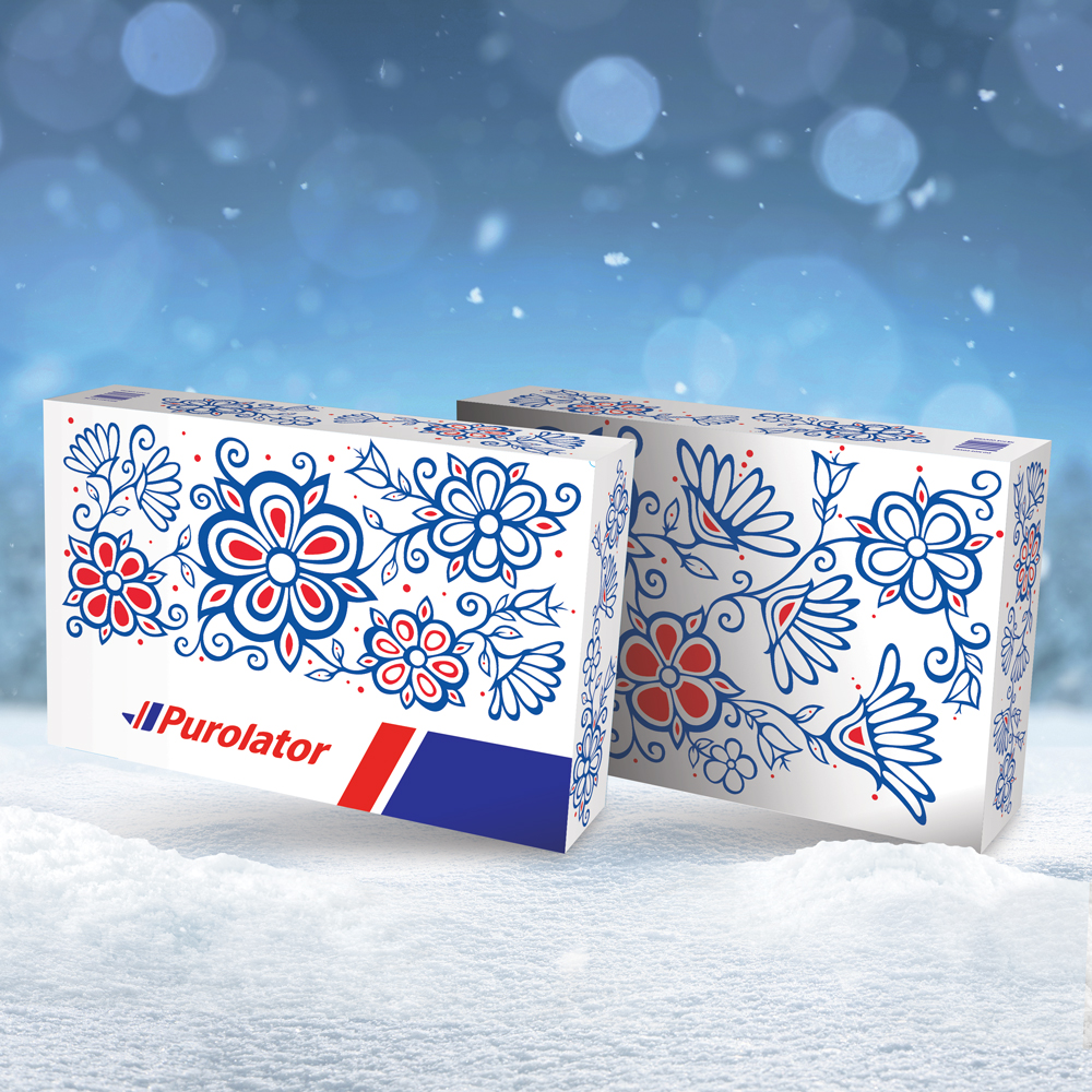 Red Lake artist reps Ontario for Purolator holiday campaign