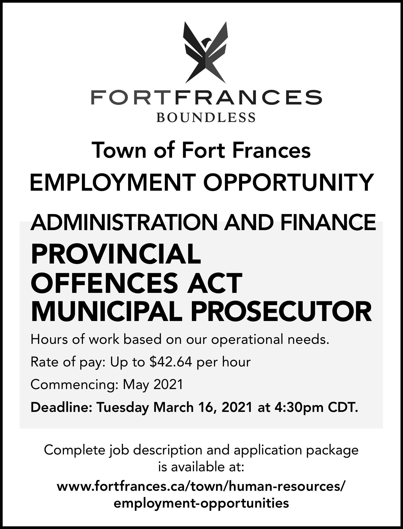 Provincial Offences Act Municipal Prosecutor