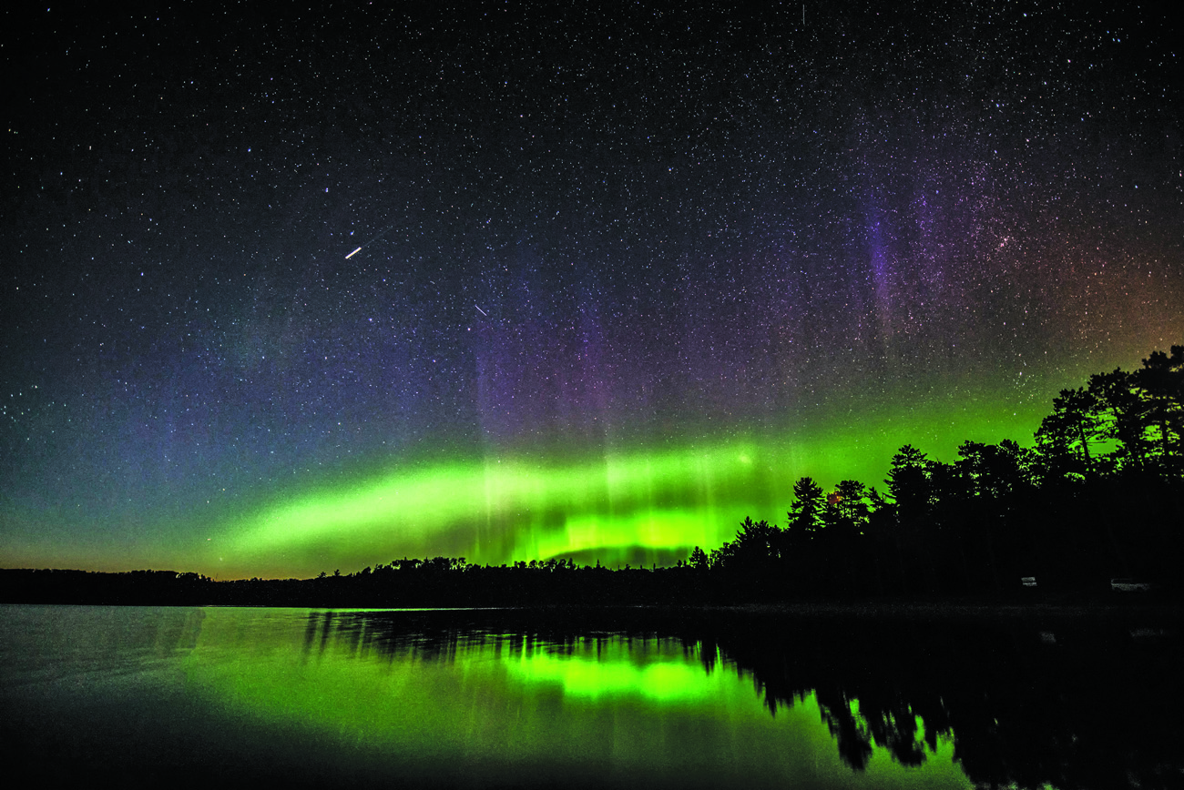 Quetico Provincial Park protects pristine night sky