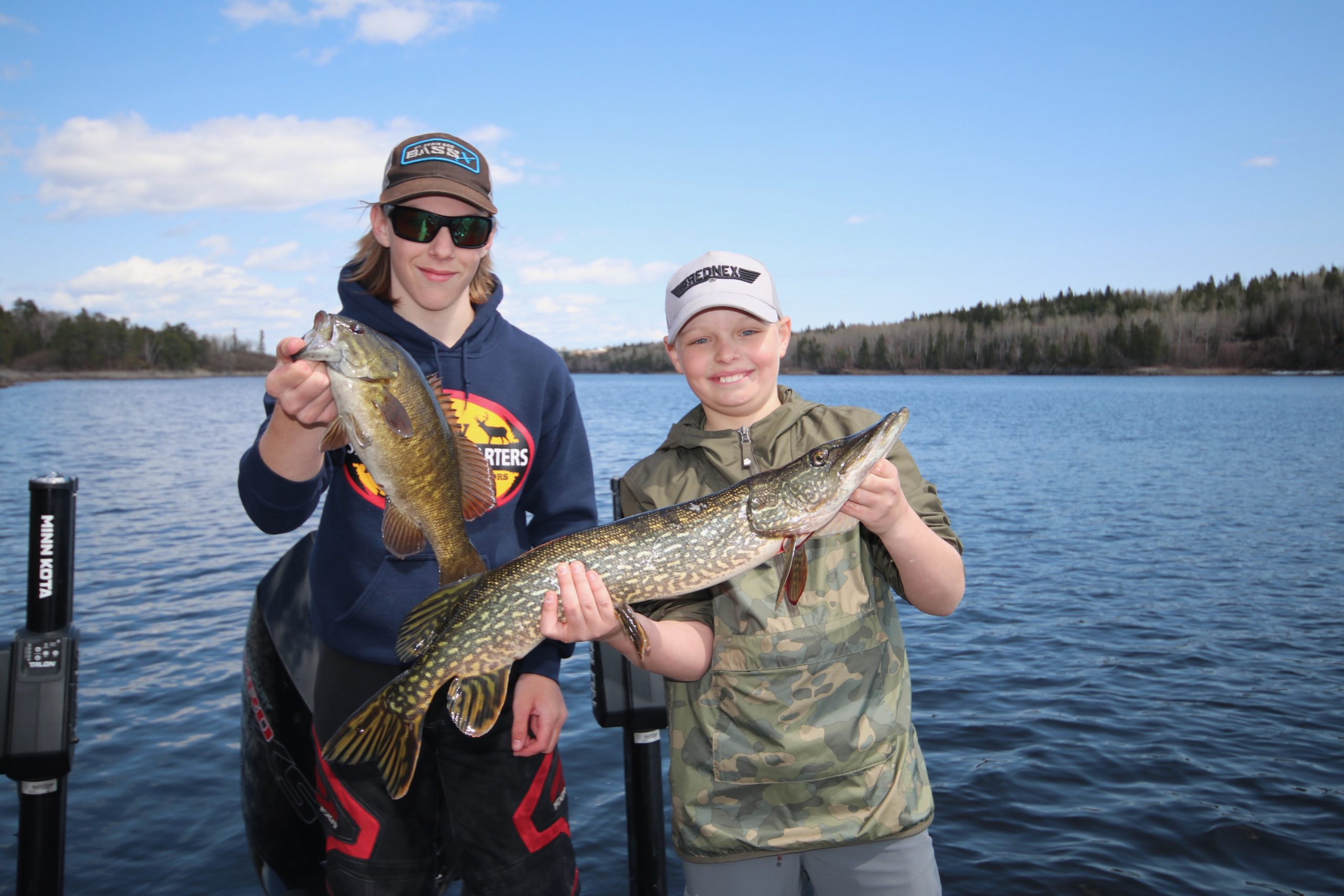 Take your kids and friends fishing