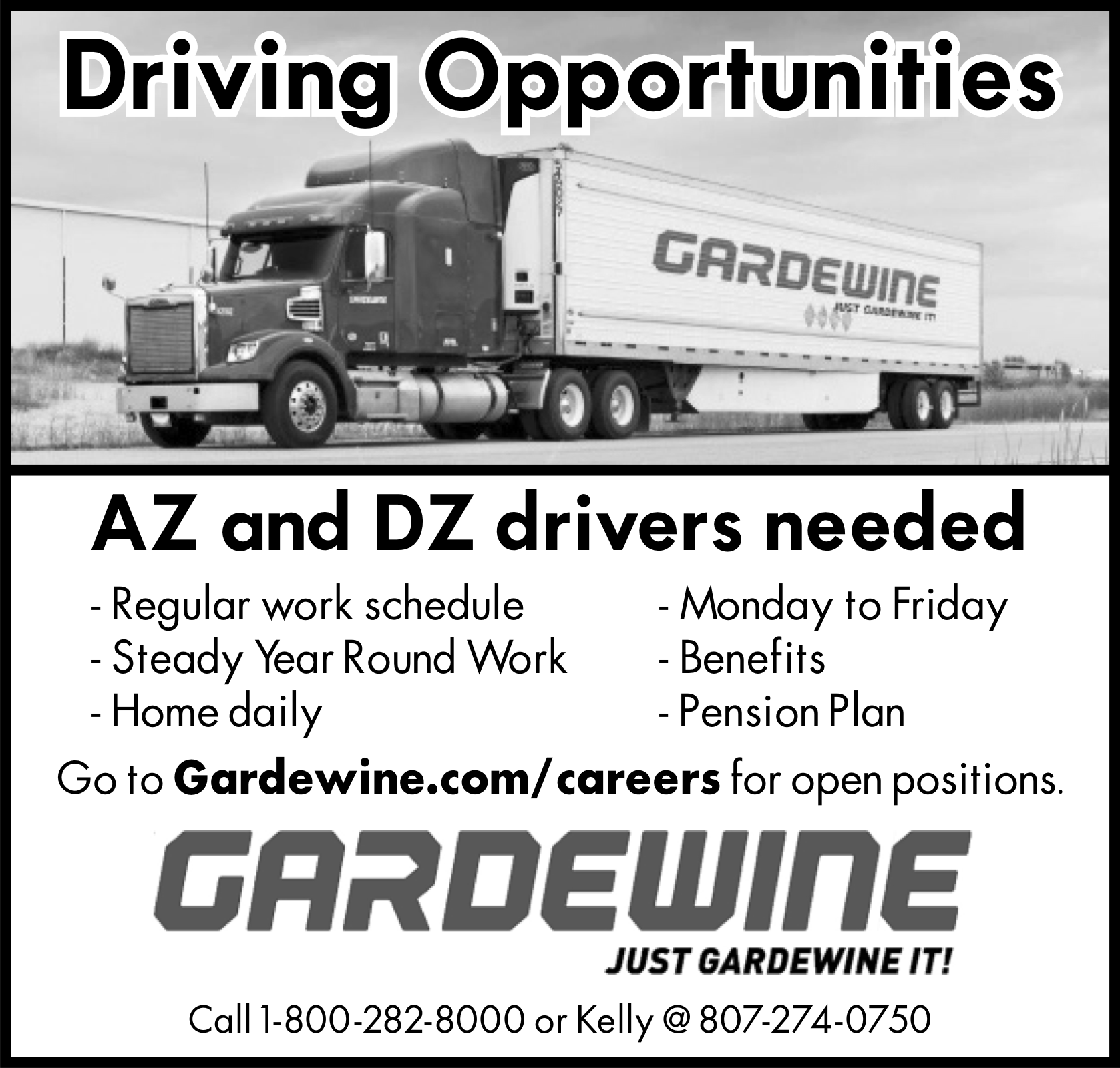 Driving Opportunities