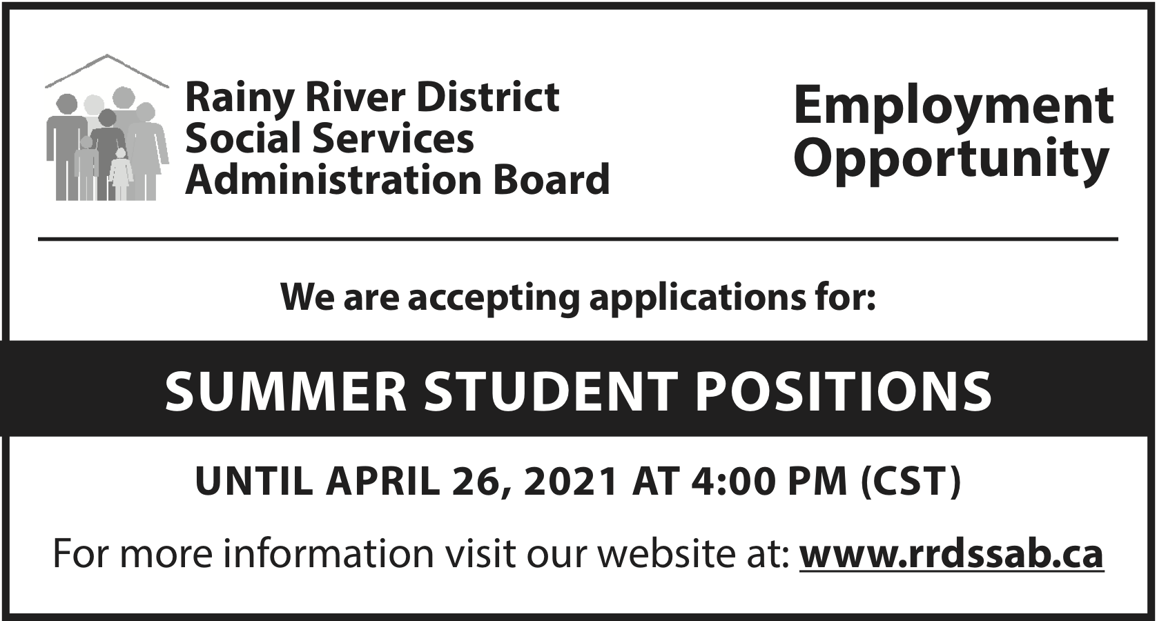 Summer Student  Positions