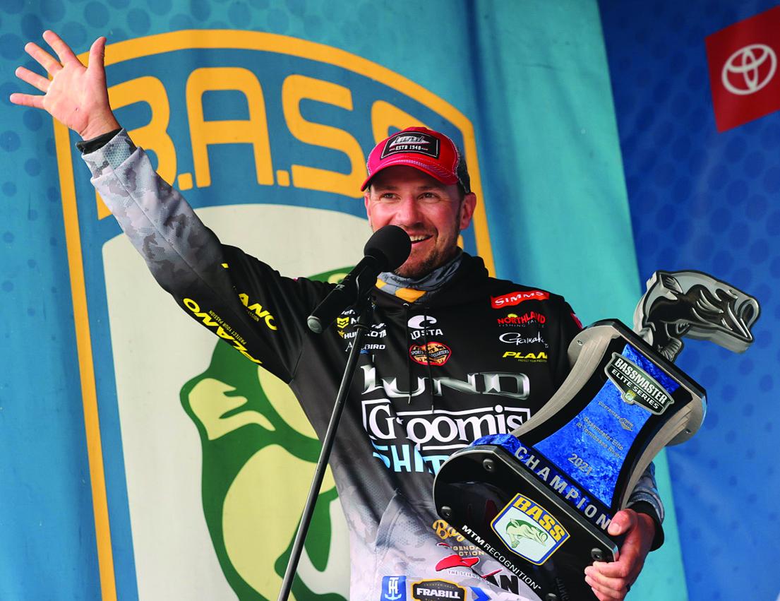 Gustafson seals Bassmaster victory
