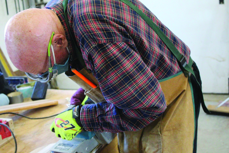 Seniors turn to woodworking to stay busy