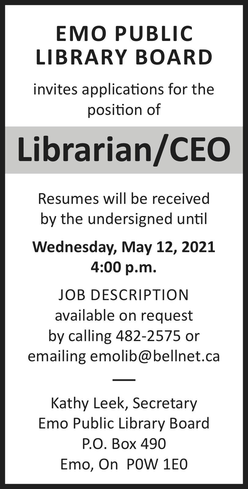 Librarian/CEO