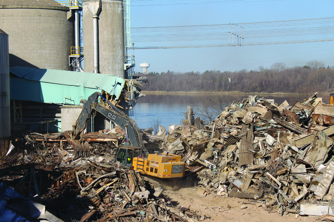 Local push to stop demolition of remaining mill