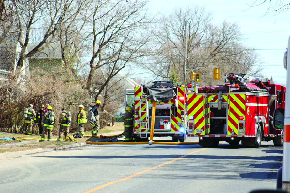 Fire crews attend several house fires