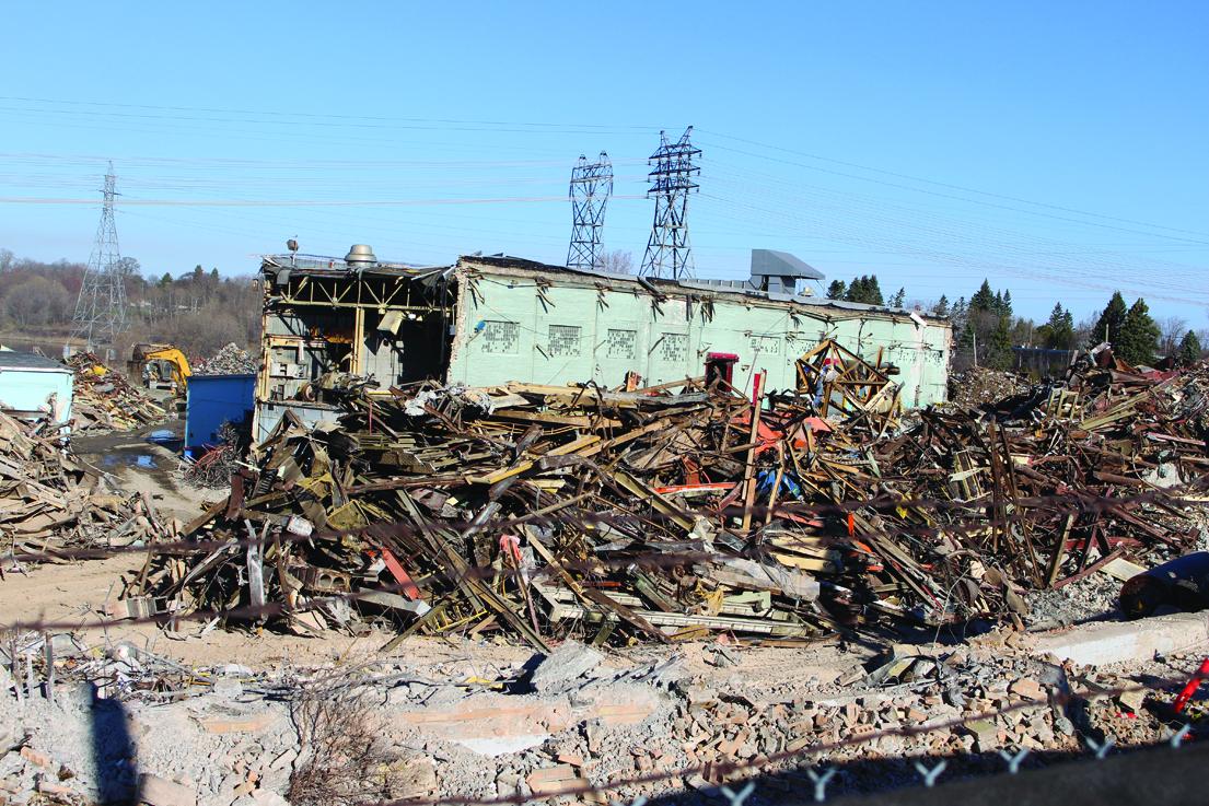 Mill 65 per cent demolished