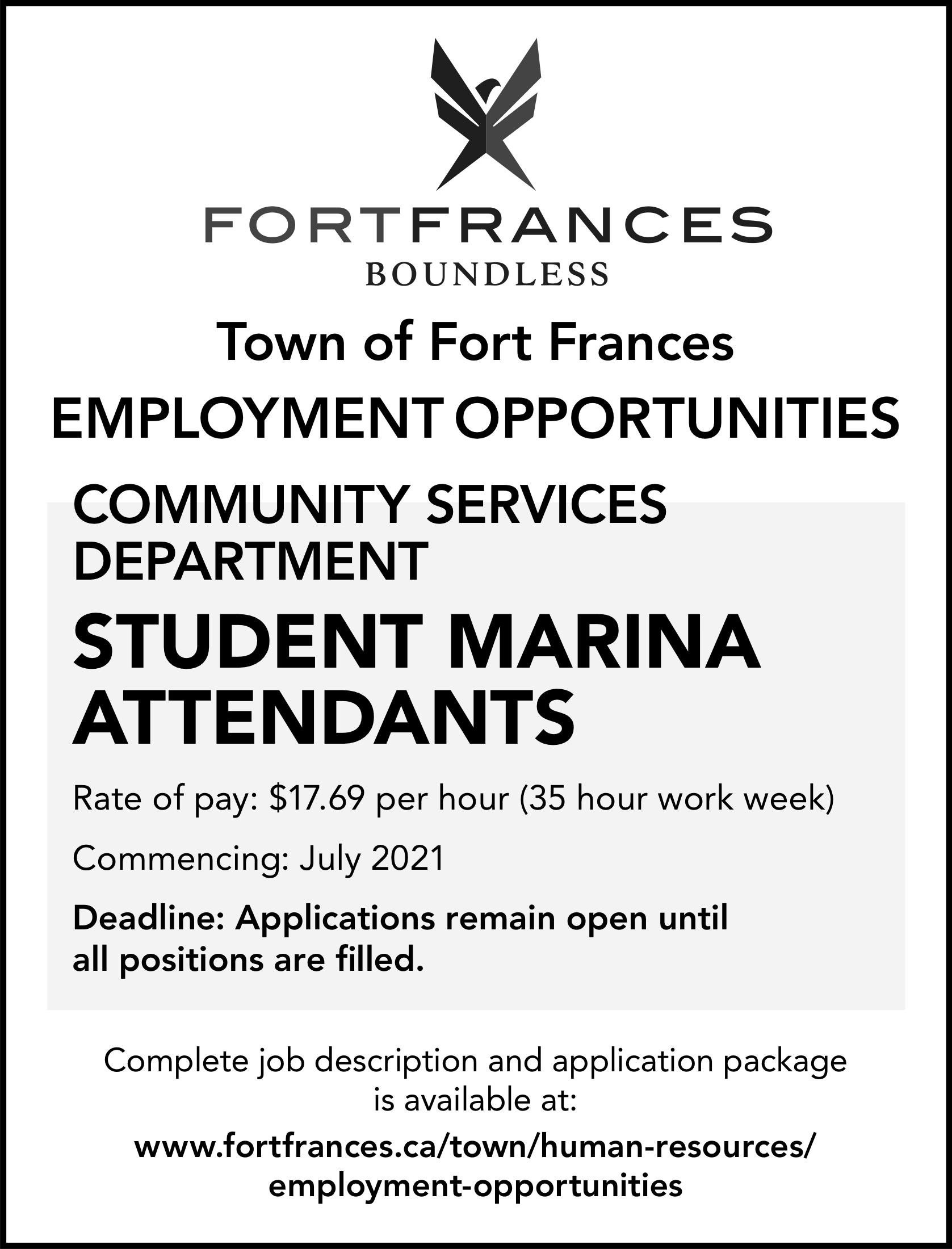 Student Marina Attendants