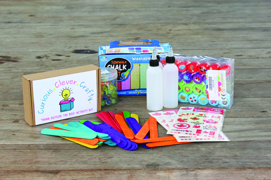 Crafty activity boxes coming from Museum, Community Living