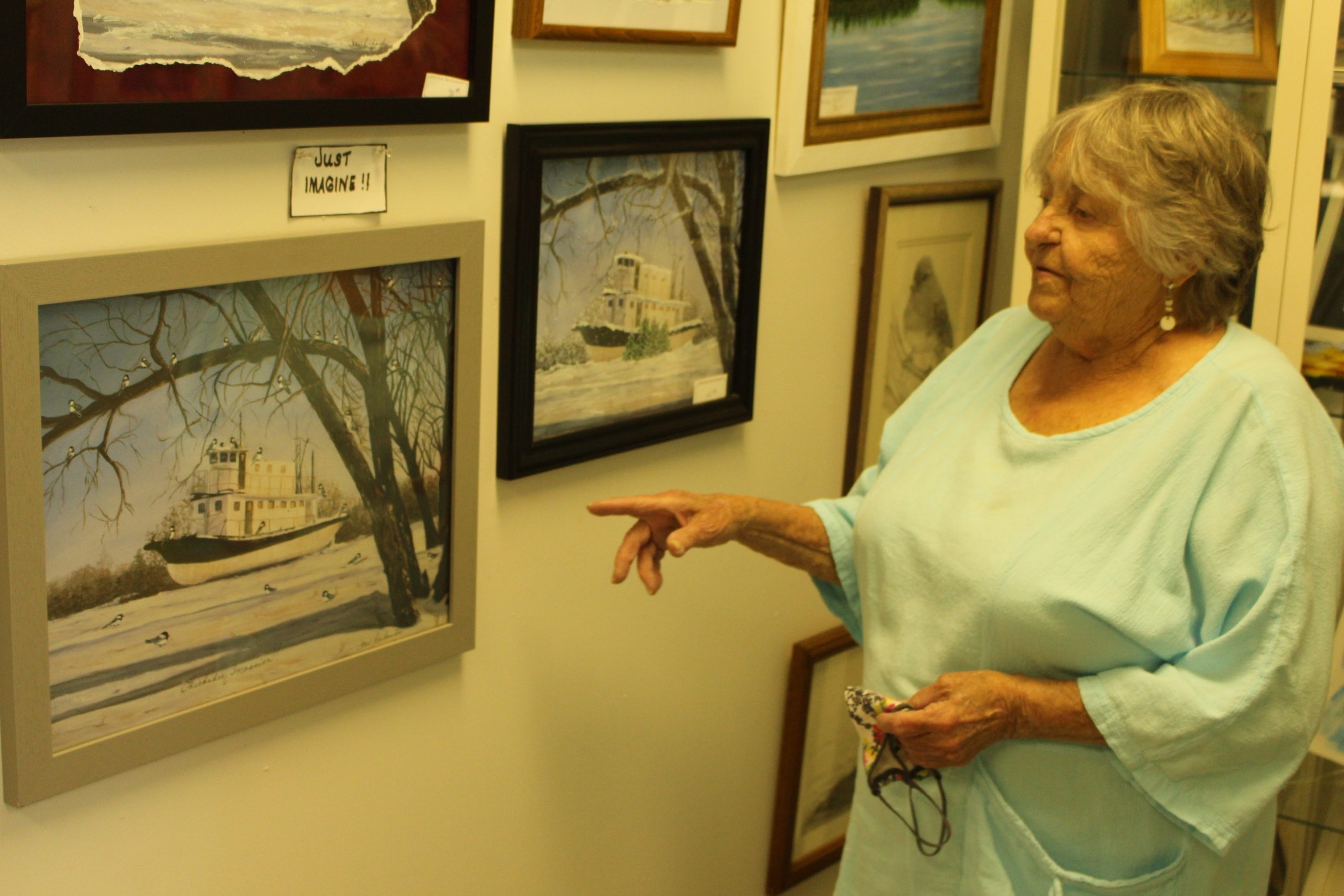 Fine Line Art Gallery back to business after COVID lockdown