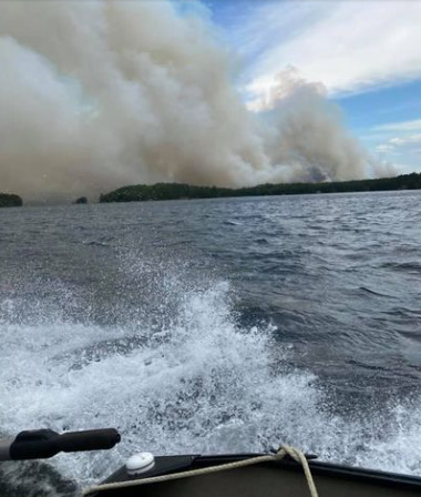 Travel restrictions imposed due to forest fire activity in the Fort Frances District