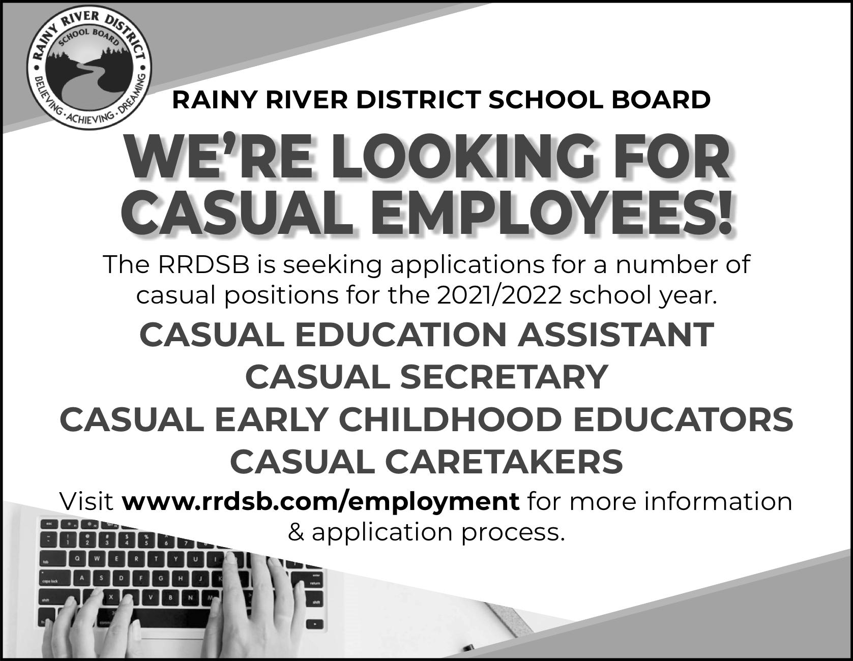RRDSB Casual Employees