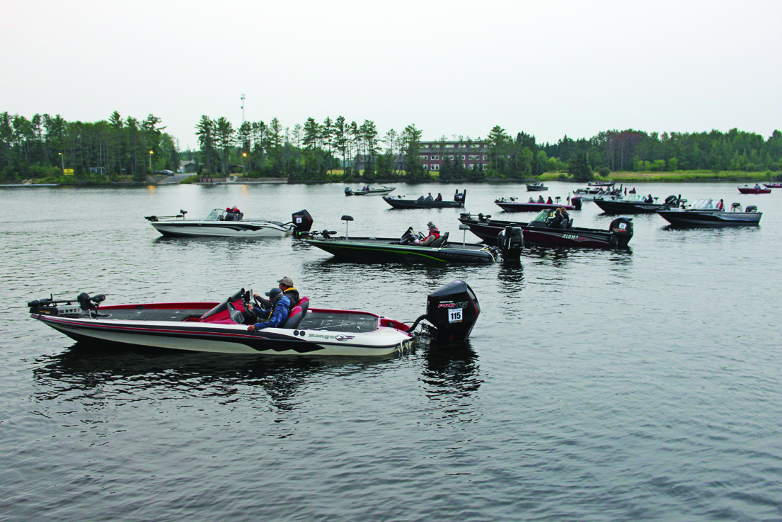 Bass Championship small, but exciting