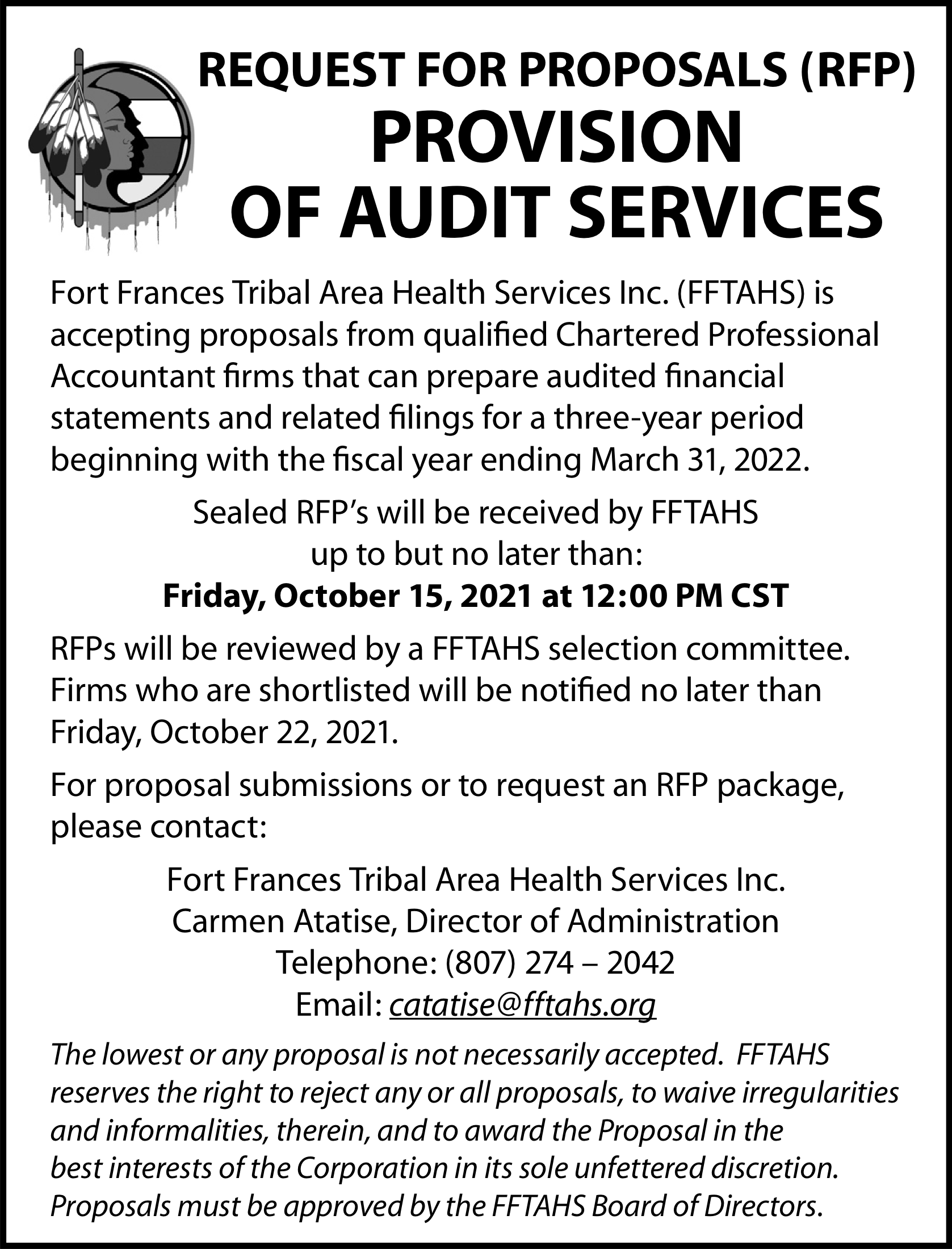 Provision of Audit Services