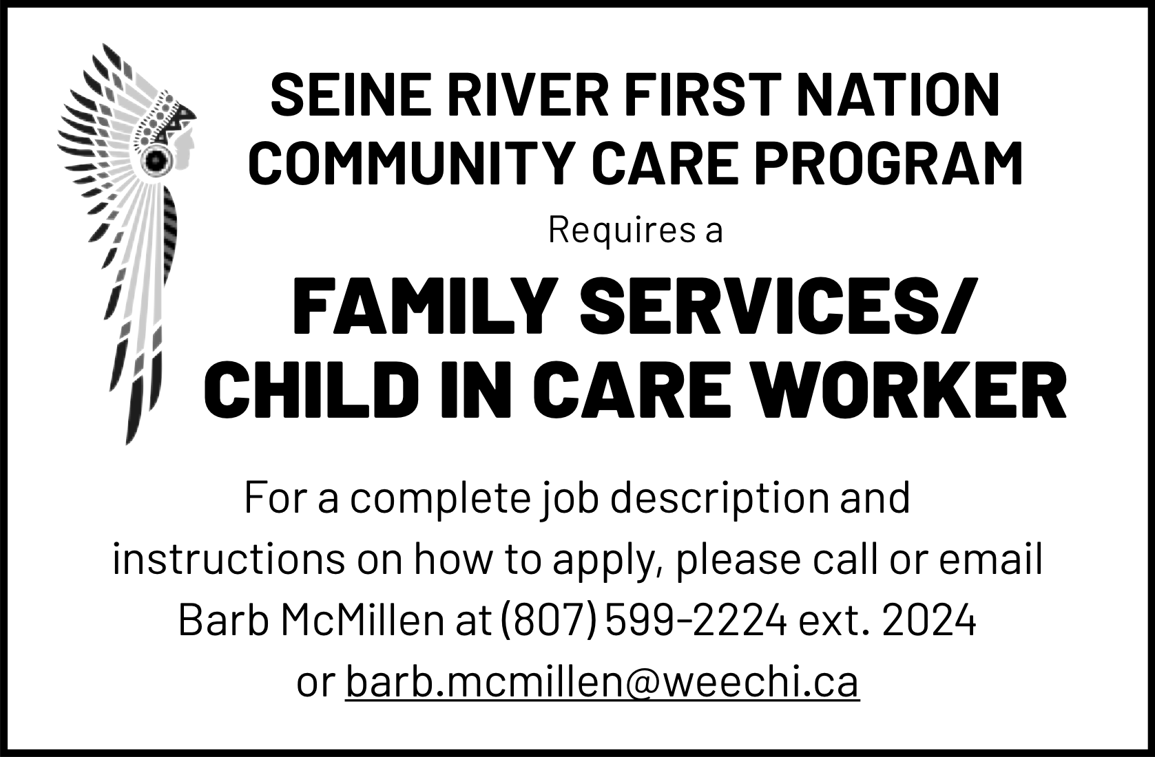 Family Services/Child in Care Worker