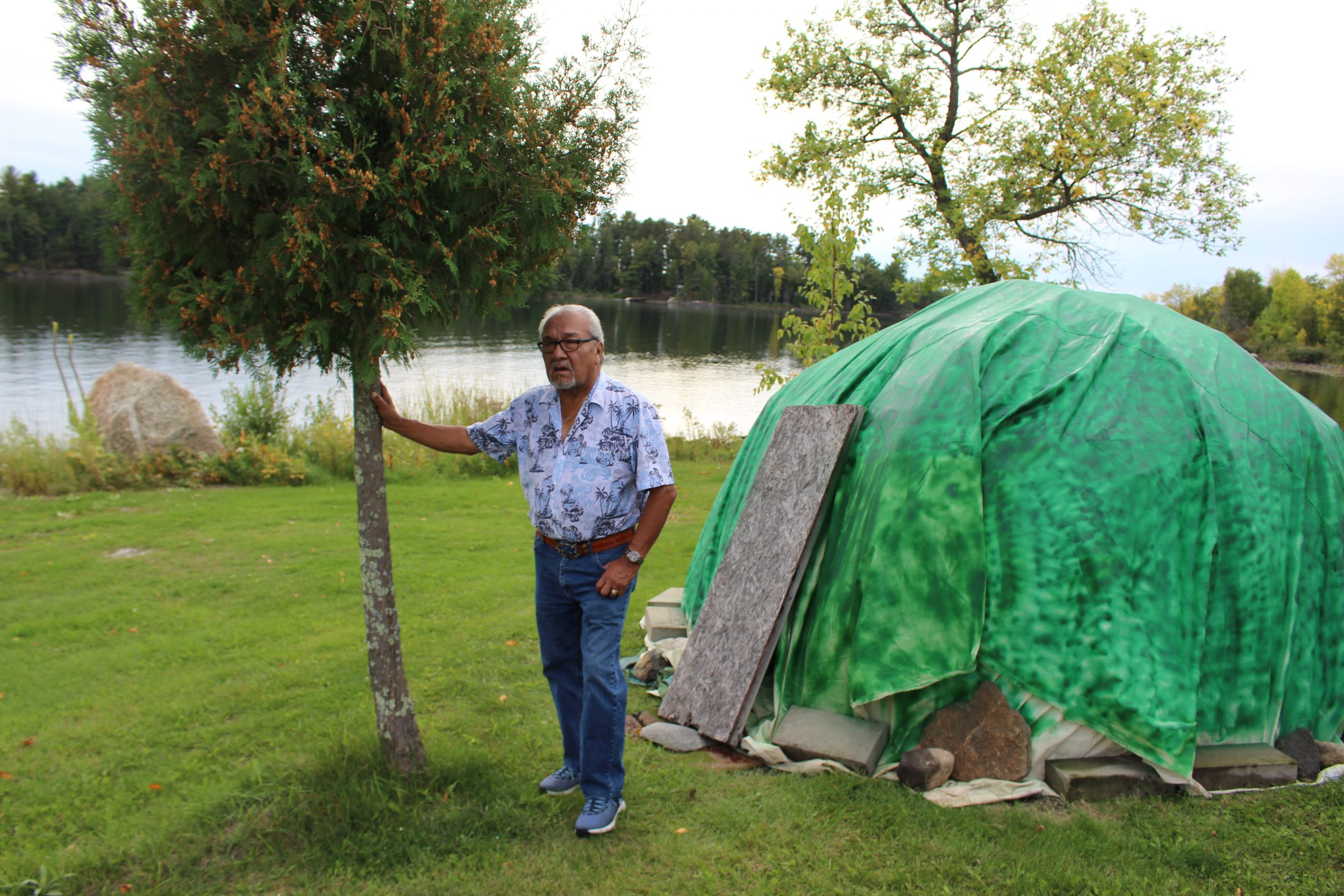 Indigenous elder offers help through knowledge and experience