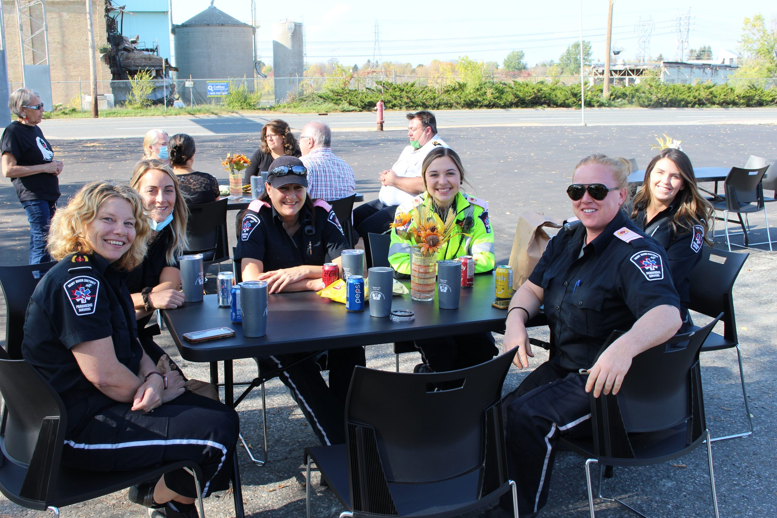 UNFC holds appreciation barbecue for first responders
