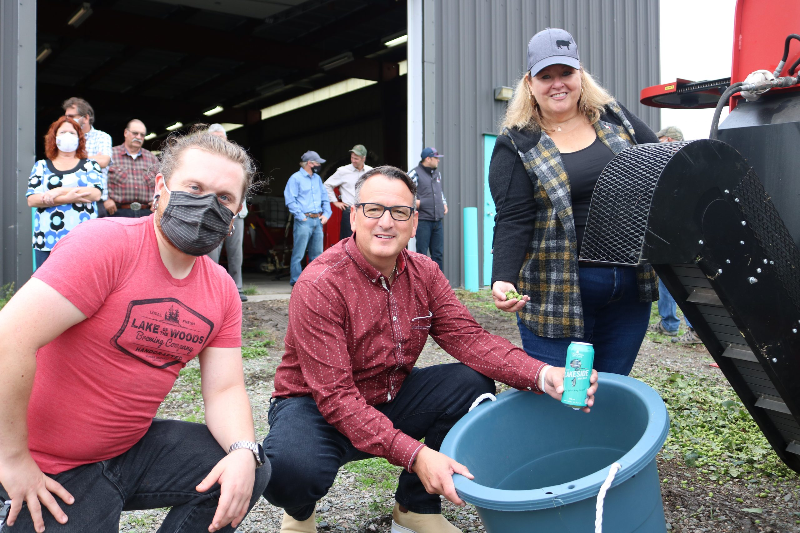 Local farms, brewers hopping into partnership