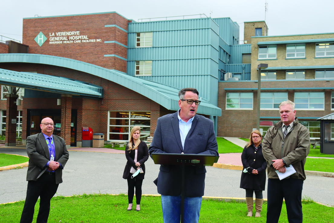 Funding announced for Riverside Health Care